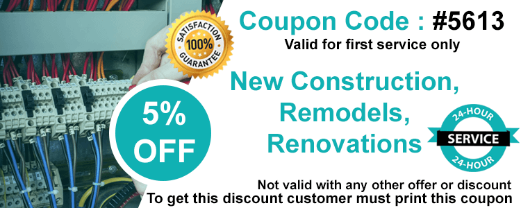 New Construction Coupon